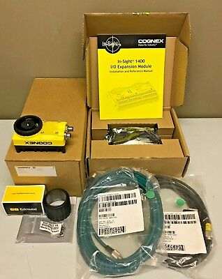 New Cognex In-Sight IS5600-11 w/ PATMAX + Lens + Cables + CIO-1400 Vision Camera