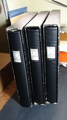 Europa stamp collection in 3 vol. Lindner Hingless albums '52-'85 or so