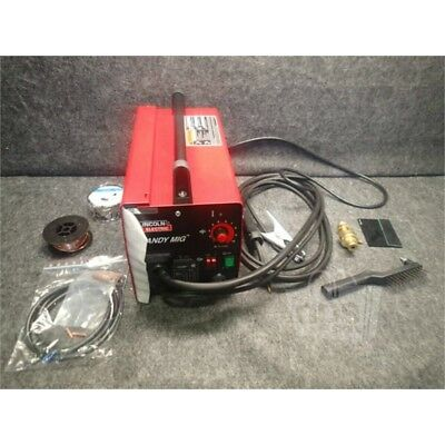 "Lincoln Electric K2185-1 Handy MIG Welder, 1/8"" Max Steel Welding, 115V, 35-88A*"