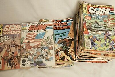 GI JOE ARAH Lot 113 Marvel Comic Books Special Missions Yearbook Order of Battle