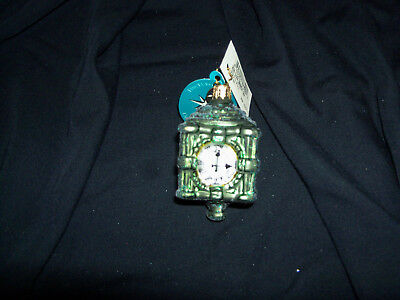 Christopher Radko 2006 Marshall Field's Clock Ornament NWT signed