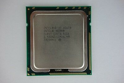 Intel Xeon X5670 2.93GHz 12MB 6-Core 95W LGA1366 SLBV7