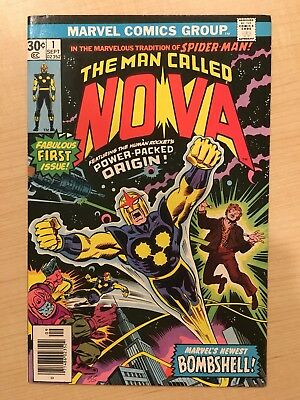 Marvel Comics - The Man Called Nova #1 - 1976