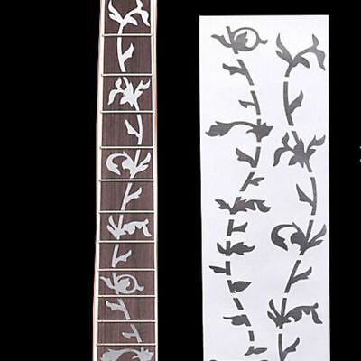 Inlay Pearl Inlay Fret Board Silver Decoration Tree Guitar Sticker Ultra Thin
