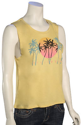 Billabong Sunset Skyline Women's Tank - Gold Dust - New