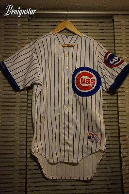 Vintage Chicago Cubs 1987- 1991 Home Baseball Jersey Small Adult