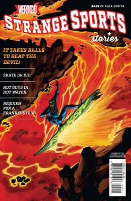 Strange Sports Stories (2015 series) #2 in Near Mint + condition. DC comics