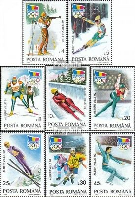 Romania 4761-4768 unmounted mint / never hinged 1992 olympic.Winter Games Albert