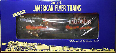 American Flyer S Gauge Happy Hallowen Box Car--Item #6-48397--Nib