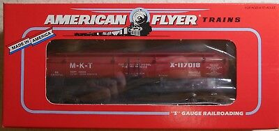 American Flyer S Gauge Tca Missouri Kansas Texas Tank Car--Item #6-48497--Nib