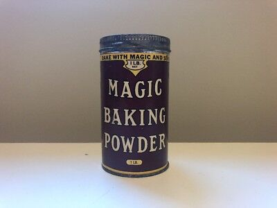 Vintage Magic Baking Powder 1Lb Tin