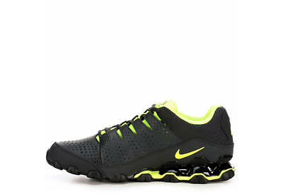 7344d8e2f7b9 Nike Reax TR 8 Running Cross Training Shoes Sneakers NIB MENS BLACK VOLT