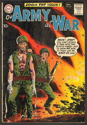OUR ARMY AT WAR with SGT. ROCK #100 DC COMICS 1960 BEST PRICE ON EBAY! WOW!