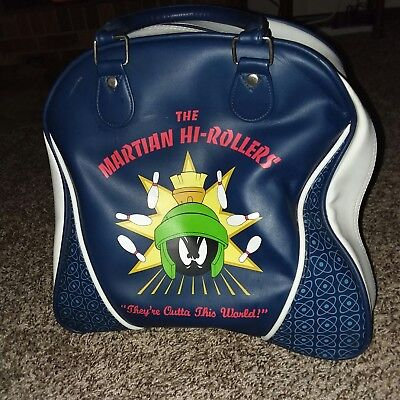 MARVIN THE MARTIAN BOWLING BAG The Martian High-Rollers 1998 Warner Brothers