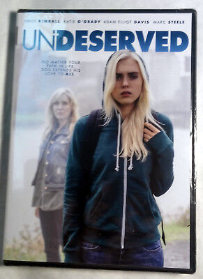 Undeserved Widescreen DVD 2017, Christian drama film NEW