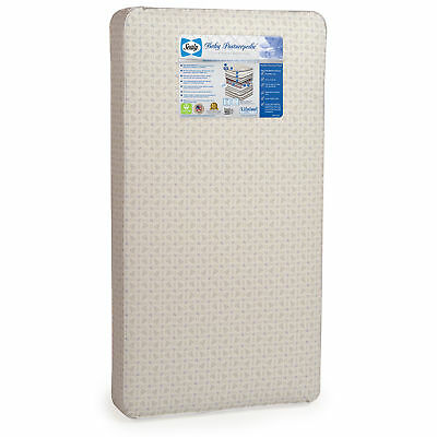 Sealy Infant & Toddler Posturepedic Cushioned Waterproof Nursery Crib Mattress
