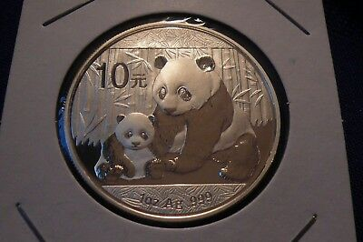 2012 Chinese Panda 1 oz .999 Silver Coin Round 131
