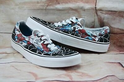 9320faf3efca 2013 VANS MARVEL Comics Spiderman Web Skateboard Shoes Size 7.5 ...