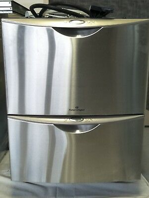 Fisher & Paykel stainless steel, double draw dishwasher