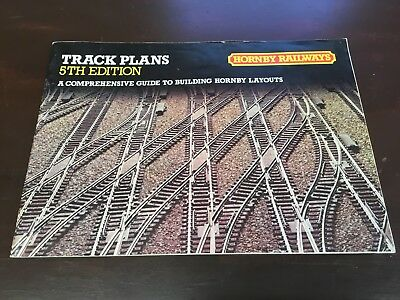 Hornby Railways Track Plans 5th Edition. Building Hornby Layouts. 1981 UK Print.