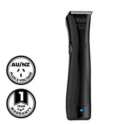 Wahl Professional Beret Cordless Trimmer Stealth Barber Hair Black
