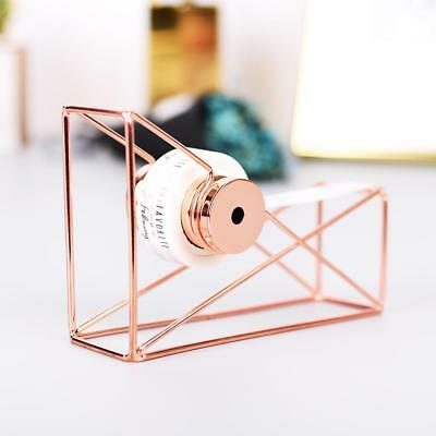 Tape Dispenser Wire Metal Holder 1 Inch Core Office Desktop Accessories Supplies