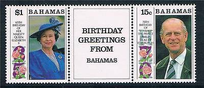 Bahamas 1991 Royal Birthdays SG913/4 MNH