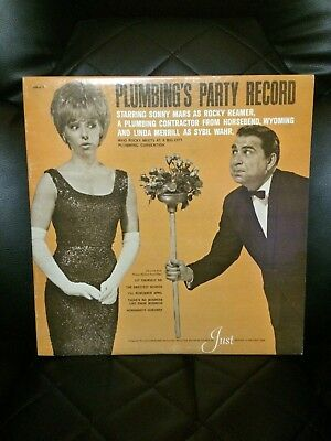 RARE Plumbing's Party Record - Just Manufacturing 1966 LP Vinyl Record