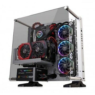 Thermaltake Core P3 Tempered Glass SNOW Edition Open Frame ATX PC Case