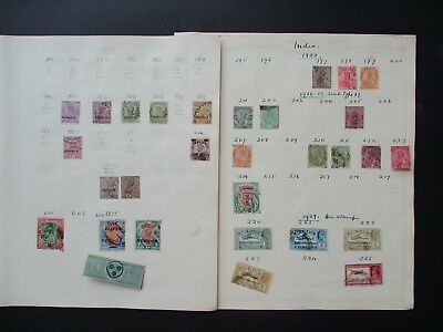 ESTATE SALE: India Collection on pages - FREE POST (2505)