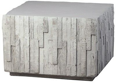 24 Gioele Coffee Table Cement Grey Square Cube Contemporary