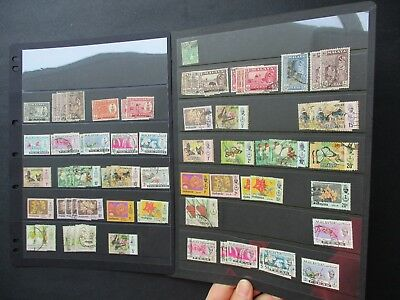 ESTATE SALE: Malaysia Collection on pages - FREE POST (2521)
