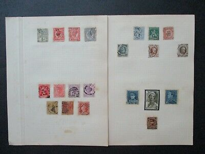 ESTATE SALE: World Selection (Denmark, Germany) on pages - FREE POST (2527)