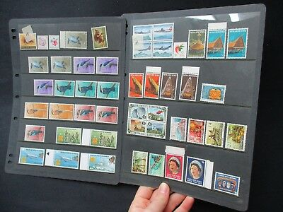 ESTATE SALE:  Papua New Guinea Collection on pages - FREE POST (2538)