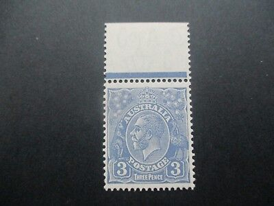 KGV Stamps: 3d Blue  Mint  - FREE POST (d74)