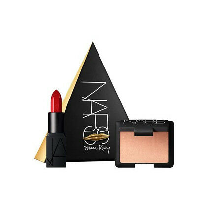 LIMITED EDITION - NARS Man Ray Hot Sand/Rita Love Triangles Lipstick and Blusher