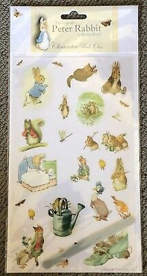 Peter Rabbit Character Rub Ons For Scrapbooking/cardmaking