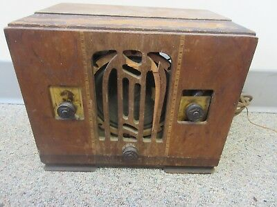 Radio Corporation of America Westinghouse GE Tube Radio Very Rare Free Shipping