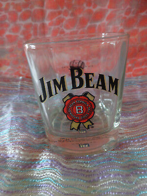 Collectable Jim Beam Whisky Glass