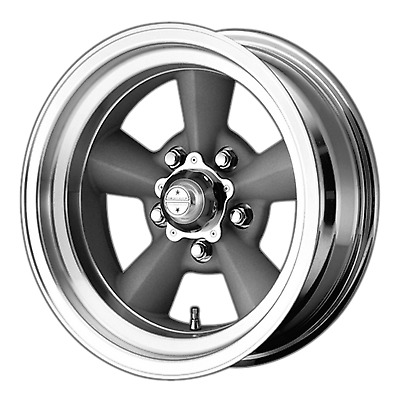 American Racing Custom Wheels Vn309 Tt O Vintage Silver Wheel With
