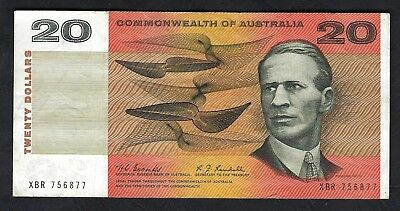 Scarce Commonwealth of Australia 1967 Coombs/Randall $20 Banknote R402