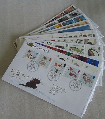 GB 2001 First Day Covers
