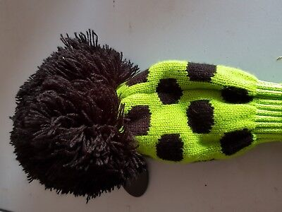 knitted fairway wood headcover