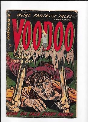 Voodoo #5 ==> Fa Nazi Death Camp Story Hanging Woman Farrell 1953 Pre-Code