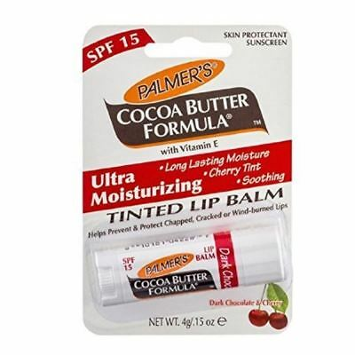 Palmers Cocoa Butter Ultra Moisturising Cherry Lip Balm Chocolate 1 2 3 6 12 Pk
