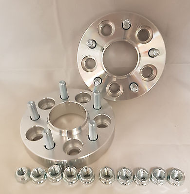 Jaguar XF 2008 On 15mm per side 5x108 63.3 Hubcentric Wheel Spacers 1 PAIR