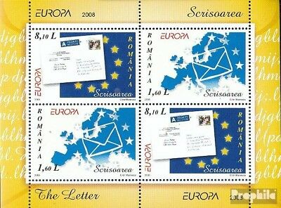 Romania Block425II (complete.issue.) unmounted mint / never hinged 2008 Europe -