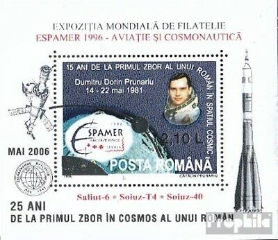 Romania Block377b I (complete.issue.) unmounted mint / never hinged 2006 Space
