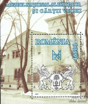 Romania block329 (complete.issue.) unmounted mint / never hinged 2003 National M