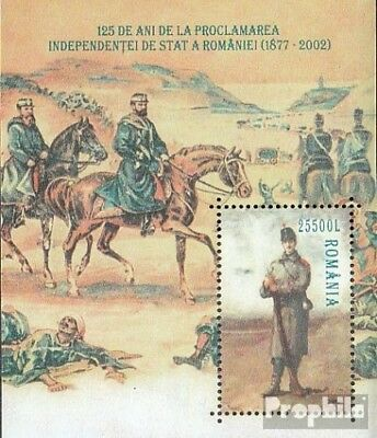 Romania Block320 (complete.issue.) unmounted mint / never hinged 2002 125Jahre S
